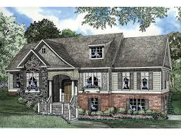 baskin farm split level home plan 055d