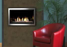 direct vent linear gas fireplace