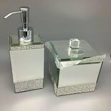 bath set soap dispenser