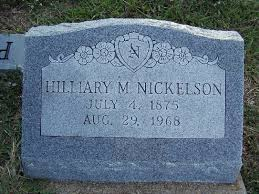 Hillary Morgan Nickelson (1875-1968) - Find A Grave Memorial