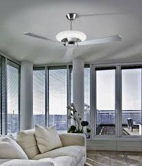 led ceiling fan with opaque blades