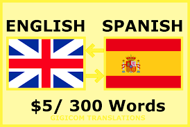 Perfectly translate english to spanish and vice versa by Gigicom