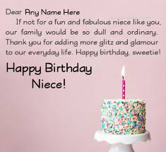 happy birthday wishes to a special niece