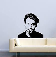 Amazon Com Vinyl Wall Decal Famous Person Movie Film Johnny Depp Home Decor Sticker Vinyl Decals Home Kitchen