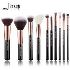 jessup 10pcs makeup brushes set