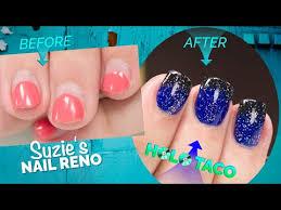 plete nail renovation with holo taco