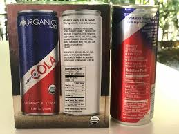 red bull cola caffeine and ings