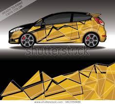 Car Wrap Decal Design Vector Custom Stock Vector Royalty Free 1617250489
