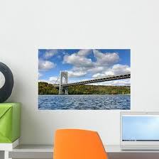 George Washington Bridge Ny Wall Decal Wallmonkeys Com