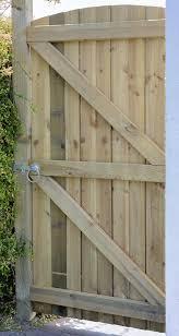Garden Fence Gate Arch Feather Edge Gardenis Co Uk