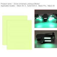 Night Luminous Sticker Noctilucent Decor Decal For Dji Mavic Air 2 Rc Drone Walmart Com Walmart Com