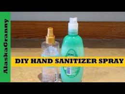 diy hand sanitizer spray homemade hand