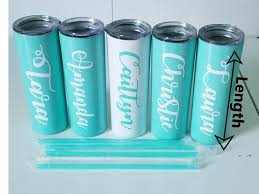 Custom Water Bottle Name Decal By Rusty Cowgirl Glitter On Zibbet