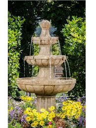 fountain garden fountains outdoor
