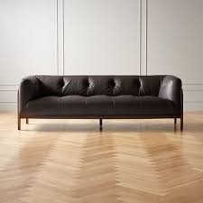 modern sofas fabric and leather cb2