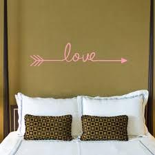 Binmer Love Arrow Decal Living Room Bedroom Vinyl Carving Wall Decal Sticker Walmart Com Walmart Com