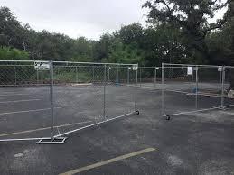 San Antonio Rent Fence Temporary Construction Fence Rentals San Antonio Tx