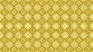 yellow vintage ornament background
