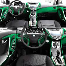 2020 For Hyundai Elantra Md 2012 2016 Interior Central Control Panel Door Handle Carbon Fiber Stickers Decals Car Styling Accessorie From Guangfan2020 18 50 Dhgate Com