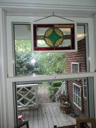neat ideas for antique stained glass