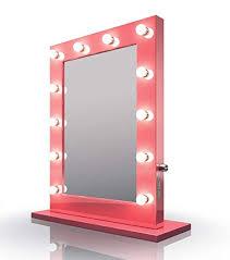 diamond x pink hollywood makeup mirror