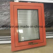china red color aluminum window frames