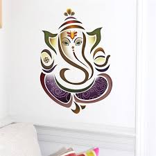 Wall Decals Ganesh Elephant Yoga Studio Decal Home Decor Vinyl Sticker Bedroom Living Room Decoration Room Decoration Wall Decalsvinyl Stickers Aliexpress