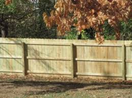 Dog Eared Style Pressure Treated Wood Anchor Fence Fence Installation Company Serving All Of Michigan Since 1892
