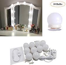 led vanity makeup mirror lights kit