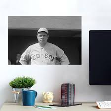 Babe Ruth Boston Red Sox Wall Decals Peel Stick Re Movable Wall Art Zapwalls