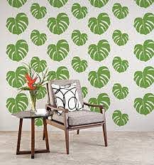 Amazon Com Tropical Wall Decal Beach Wall Decor Tropical Leaf Hawaiian Wall Decor Tropical Leaves Apartment Wall Decor Nursery Wall Decals Handmade
