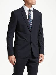 PS Paul Smith Tailored Fit Suit Jacket, Navy at John Lewis & Partners