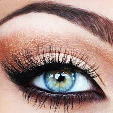 eye makeup for blonde hair green eyes
