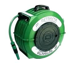 retractable garden hose reel wall mount