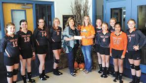 High School Sports: Community Cancer Fund receives donation from TOMS  volleyball team (9/28/16) | Dyersburg State Gazette