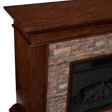 canyon heights electric fireplace in