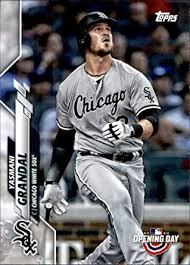 Amazon.com: 2020 Topps Opening Day #10 Yasmani Grandal Chicago White Sox  MLB Baseball Trading Card: Collectibles & Fine Art