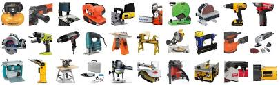 diffe types of power tools