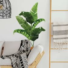 Banana Leaf Peel And Stick Giant Wall Decal Roommates Target