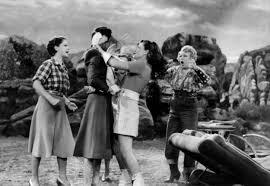 Image result for rosalind russell paulette goddard women fight