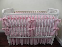 pink crib bedding girl baby bedding