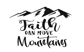 Faith Can Move Mountains 6 Car Sticker Decal God Jesus Salvation Hope Love 3 04 Picclick