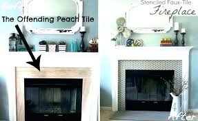can you paint over marble fireplace