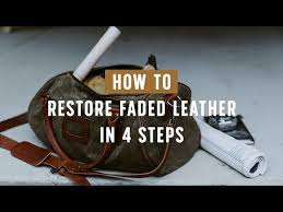 how to re leather buffalo