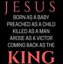 follow jesus jesus is my king christian quotes group facebook