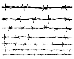 ᐈ Barbed Wire Tattoo Stencil Stock Vectors Royalty Free Barbed Illustrations Download On Depositphotos