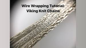 wire wrapping tutorial viking knit