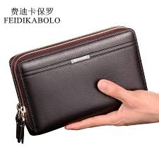 men clutch bags pu mens leather wallet