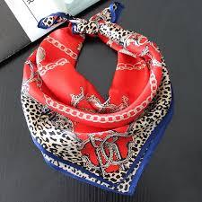 china multipurpose silk scarf lady