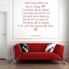 I M Feeling 22 Taylor Swift Wall Sticker Wall Stickers Wall Quotes Wall Decals